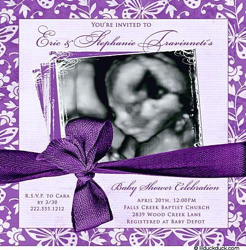 Purple Baby Shower Favors   Impressive Domination For Baby Shower .
