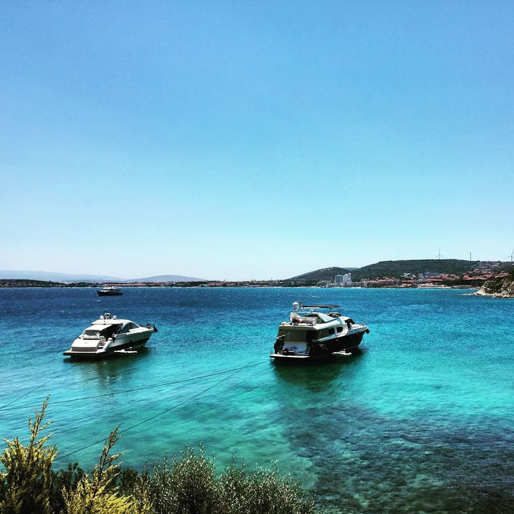 #Beach #blue #kafepi #ayayorgi #çeşme #izmir  #sky #sea #izmir #turkey #summer #holiday #hipster
