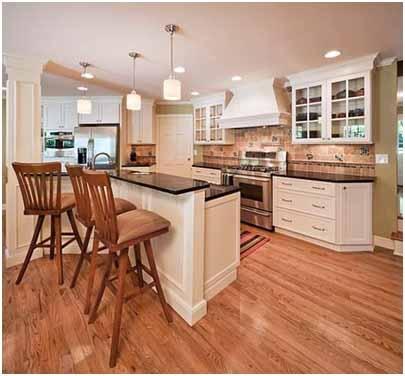 2011 Award Winning Bi Level Kitchen Island Home Decor