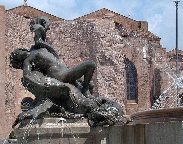 Fontana delle Naiadi - Piazza Repubblica