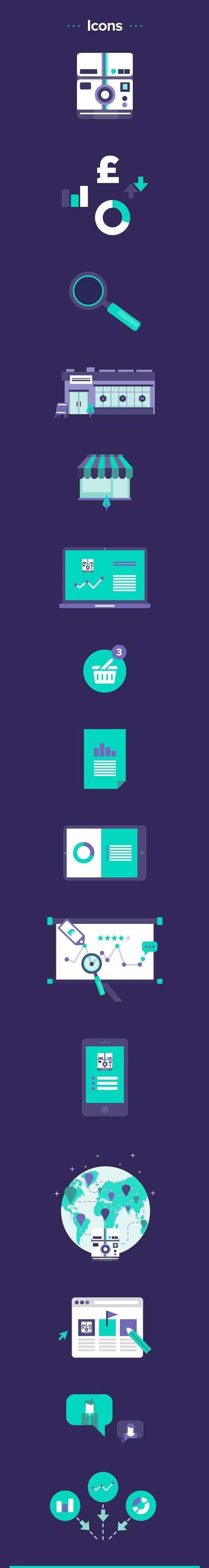 RetailVision // App & Illustration on Behance — Designspiration
