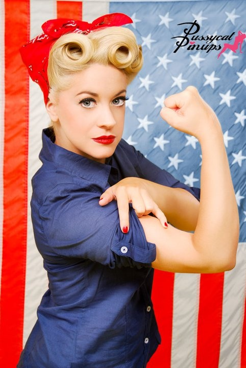 Rosie the Riveter (Inspiration for today's look)