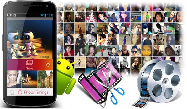 Esta imagen corresponde a un articulo donde se habla acerca de 10 aplicaciones Android para crear videos con fotos y música