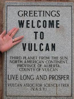 Live long and prosper in Vulcan, Alberta