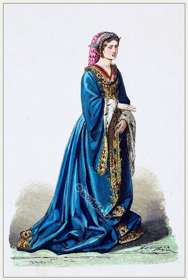 Burgundian nobility in the 15th century | Costumer's Guide ...