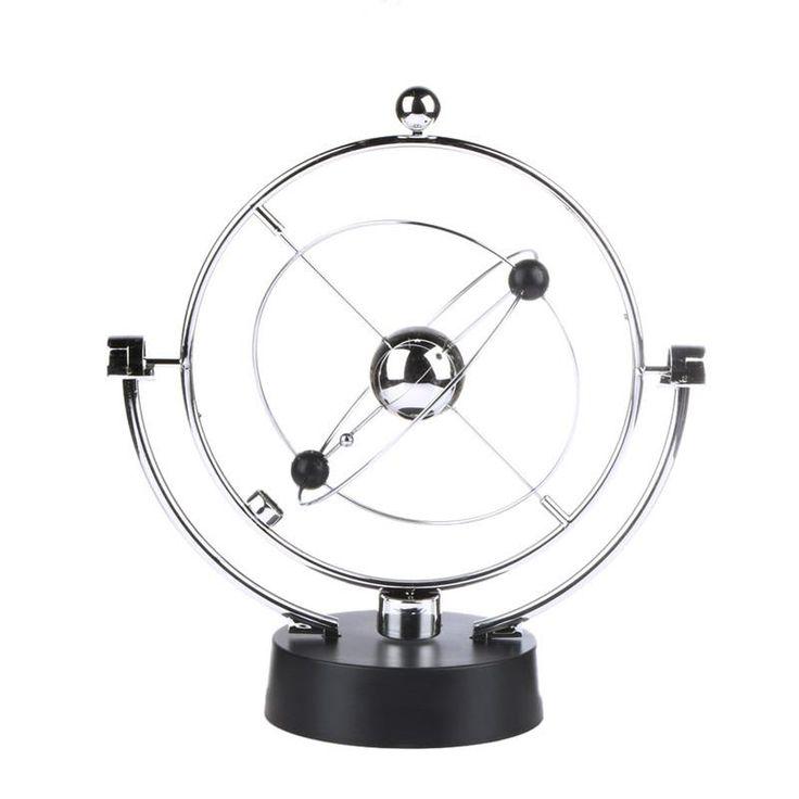 Kinetic Orbital Revolving Gadget Perpetual Motion Desk Art