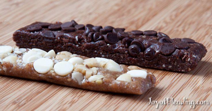 Chocolate chocolate chip and white chocolate macadamia homemade larabars
