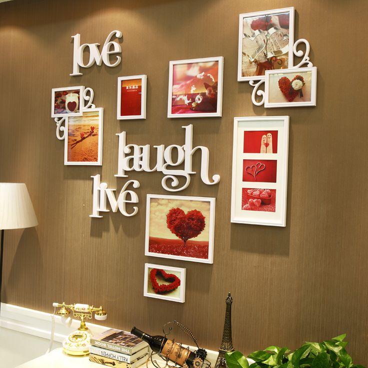 Ya Le Jing креативные Свадебные фото стиля стены кадр на стене фото рамка сочетание гостиная спальня стены