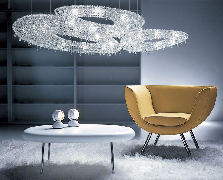 Polaris Crystal Chandelier Manooi www.manooi.com #Manooi #Chandelier #CrystalChandelier #Design #Lighting #Polaris #luxury #furniture #interior