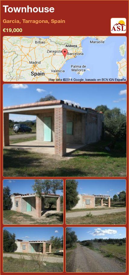 Townhouse in Garcia, Tarragona, Spain ►€19,000 #PropertyForSaleInSpain