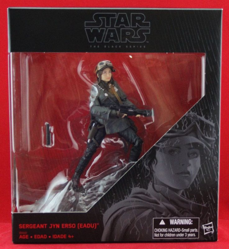 Jyn Erso Rogue One Star Wars the Black Series Kmart Exclusive Free Shipping NIB #Hasbro