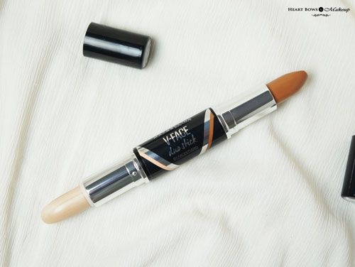 Maybelline V Face Duo Stick Review Best Affordable Contour Highlight Duo India
