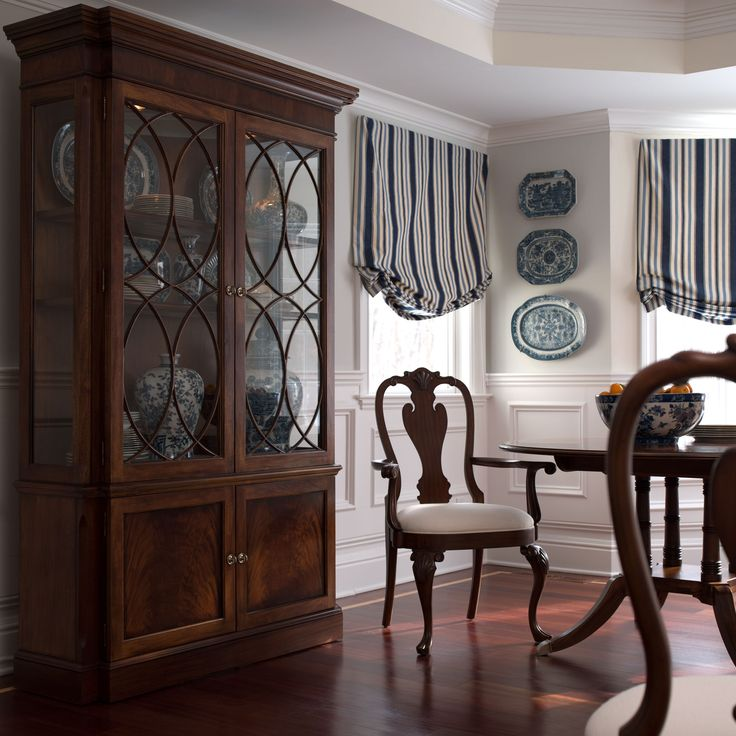 32 Dining Room Storage Ideas: Pinned Because Of Wainscotting- Under Windows Shorter With