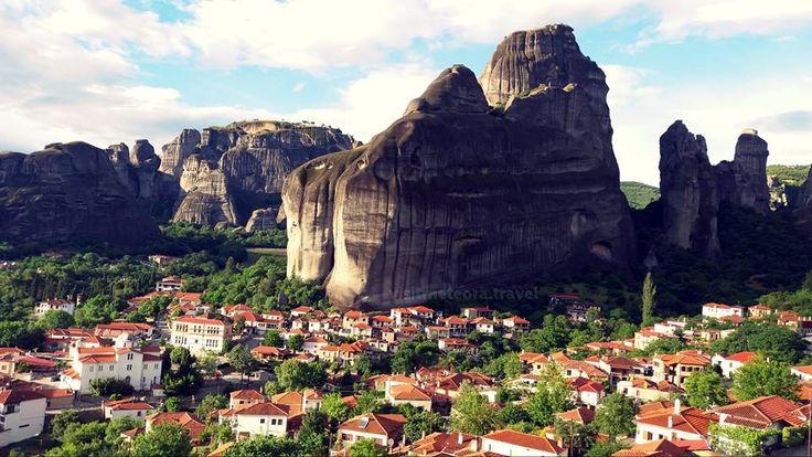CNN 'Visits' Meteora in Greece.