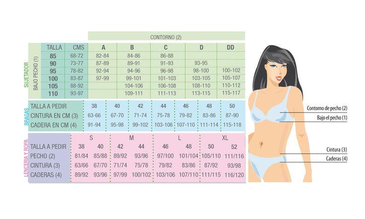 medidas talla s mujer - Buscar con Google