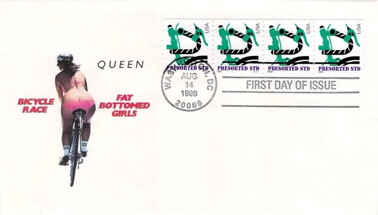 1998 Bicycle First Day Cover
