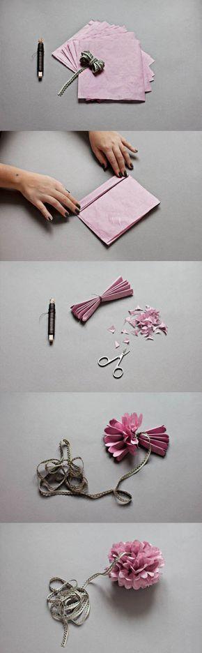Easy Paper Flower   DIY & Crafts Tutorials