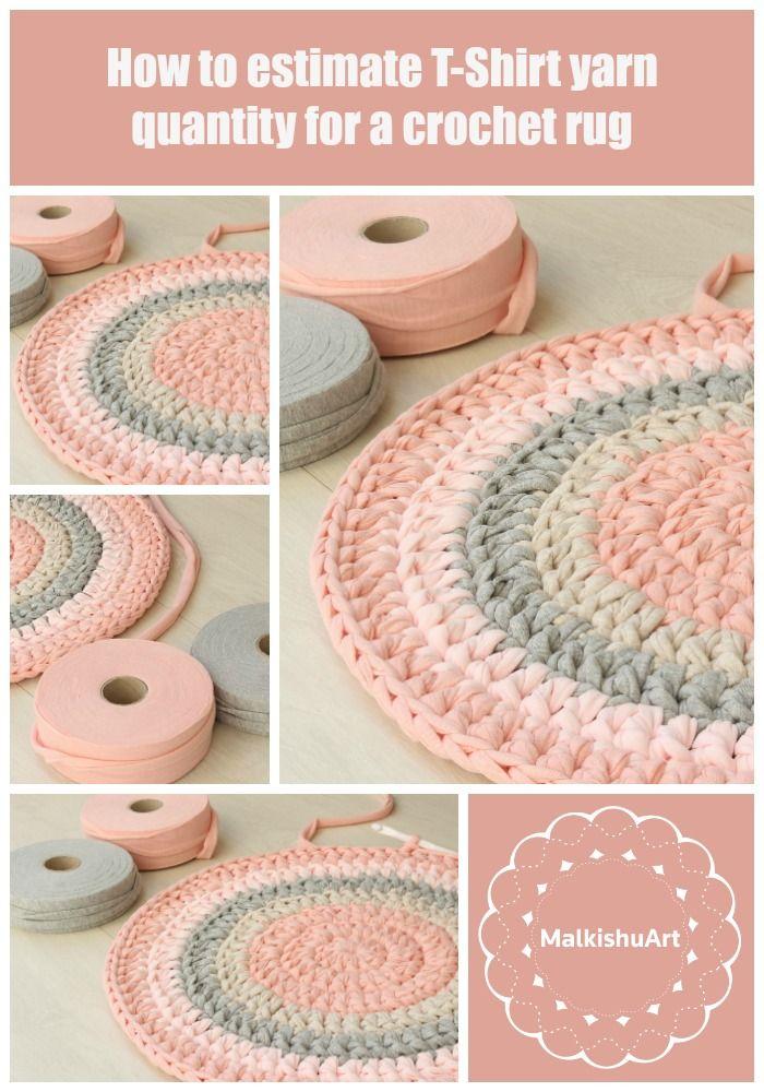 79 best Crochet rug, rag rug, round rug, free patterns images on ...