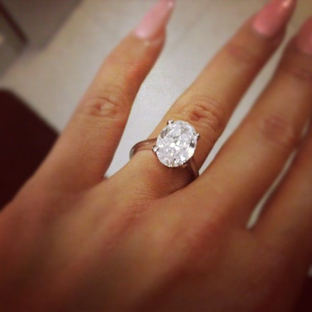 find this pin and more on blushing bride huge engagement rings