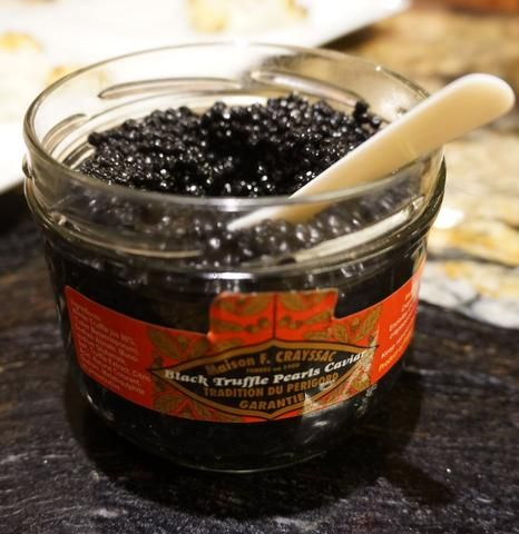 Add Black Truffle Pearls to mashed potatoes, scalloped potatoes, roasted butternut squash, parsnip or pumpkin soup  Black pearls deliver the rich earthy flavor of a truffle, but serve the visual elegance of fresh caviar!  Be sure to try them on eggs, risottos, red meats and fish; or in champagne. Cheers!