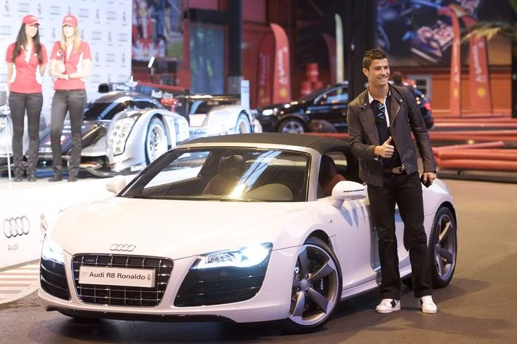 Cristiano Ronaldo Cars 2014 for The Different Event Suit