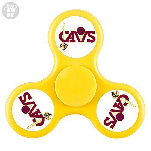 ToyHouse Fidget Spinner CAVS logo Tri-Spinner High Speed Spin Gyroscope Spinner Hand Toy Scopperil Speed Spin Peg-top High Speed Spin Toys High Speed Spin Toys - Fidget spinner (*Amazon Partner-Link)