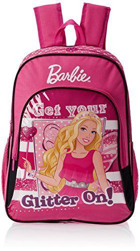 #3: Barbie Pink Children's Backpack (EI-MAT0054)
