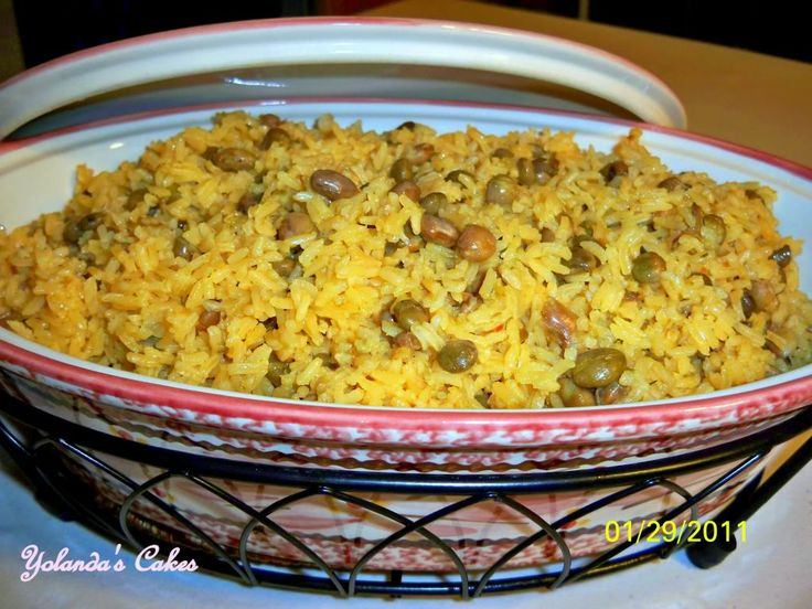 Rice with Pigeon Peas - Arroz con Gangules - Great Cooks Community