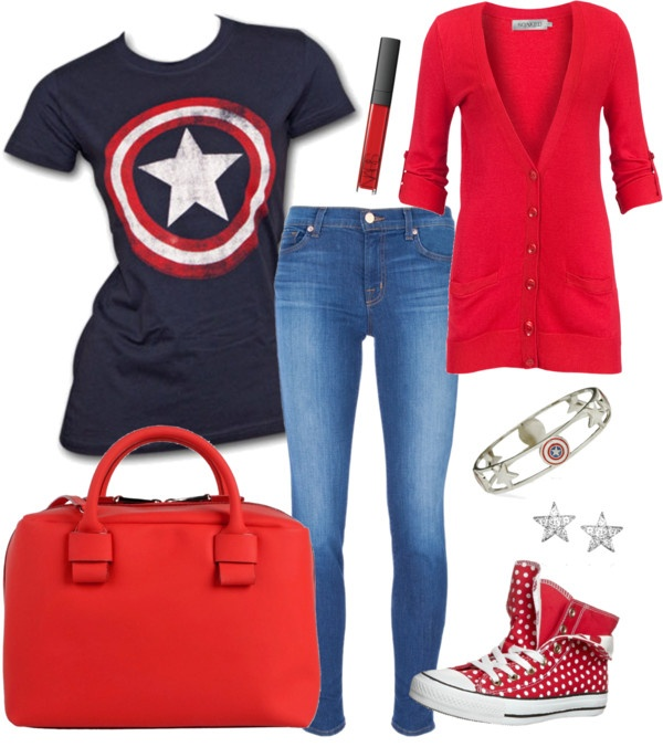 """Super Hero Chic"" by missnabilap on Polyvore"