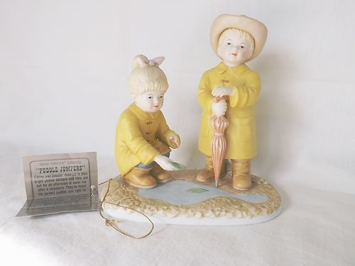 Retired 1999 denim days home interiors puddle jumpers 88013 99