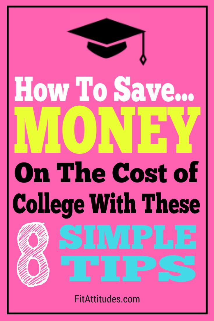 8 Creative Ways To Save Money For College Stashing Dollars College Costs Best Money Saving Tips Saving For College