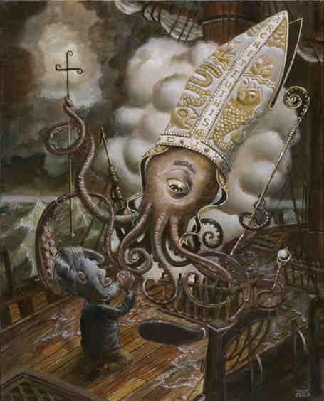 Il calamaro gigante ed il mito del Kraken