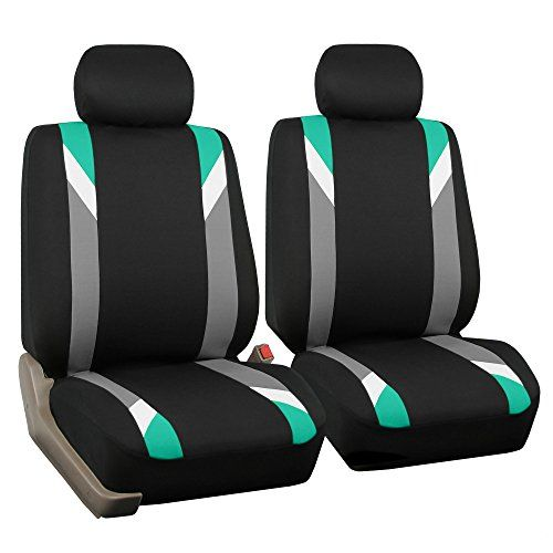 FH Group FB033MINT102 Modernistic Mint Bucket Seat Cover, Set of 2. For product info go to:  https://www.caraccessoriesonlinemarket.com/fh-group-fb033mint102-modernistic-mint-bucket-seat-cover-set-of-2/