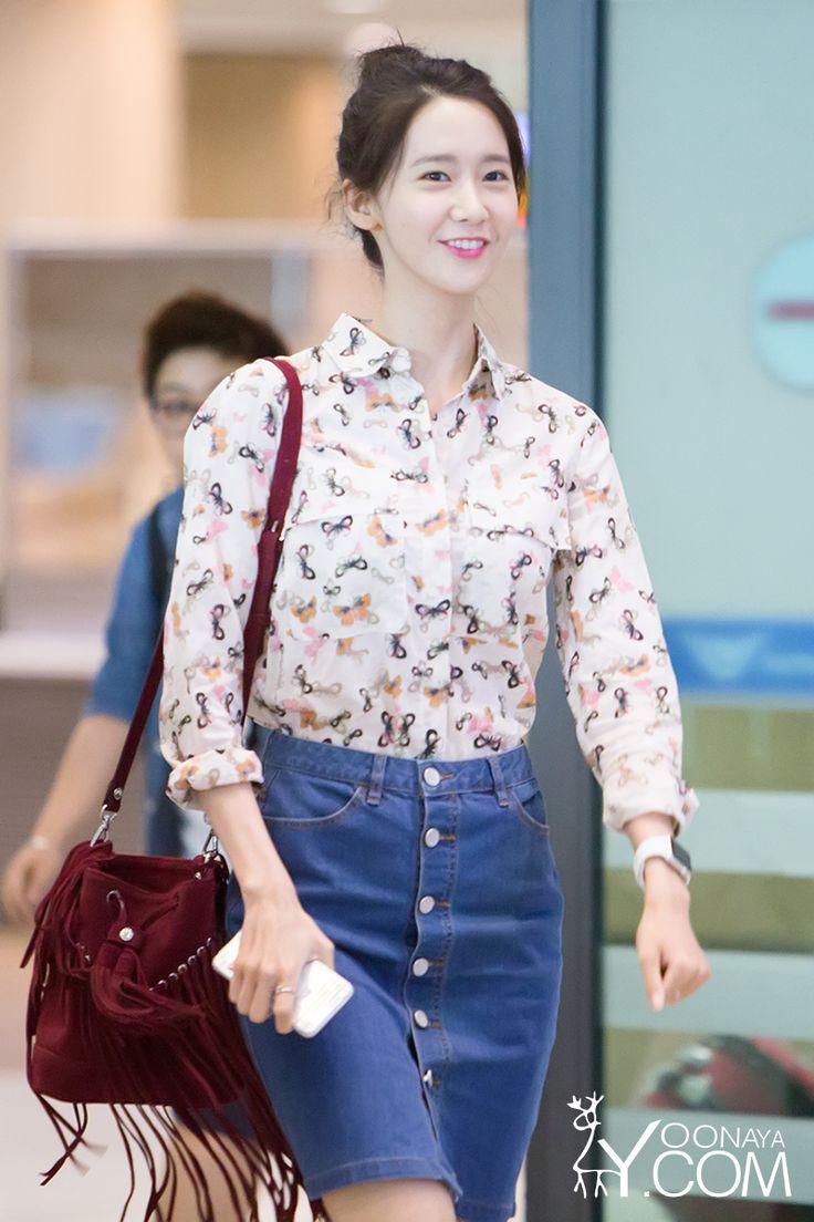 Yoona 150526 Airport Fashion Im Yoona Snsd Pinterest Yoona Posts And Airport Fashion