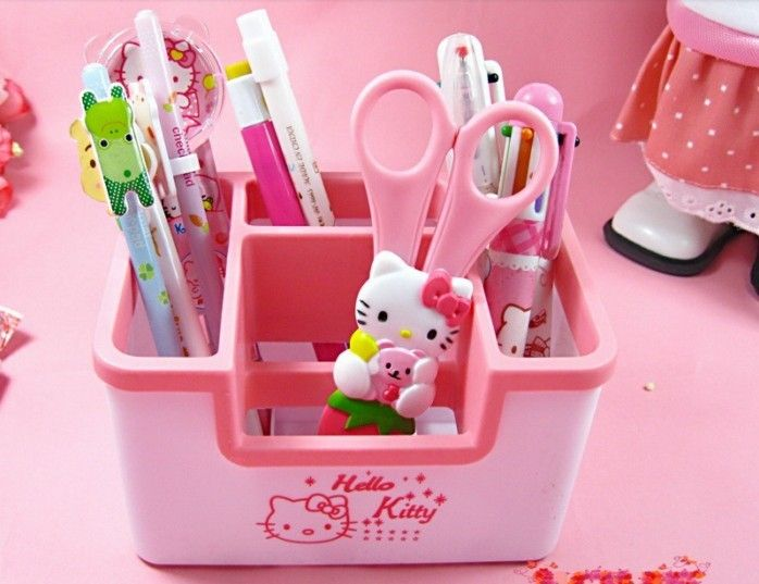 O Kitty Desk Organizer Design Ideas