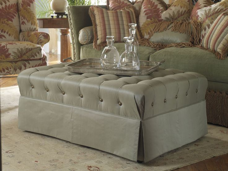 Highland House Furniture: 809 48C   OTTOMAN