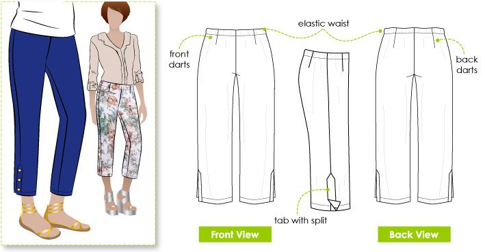 Style Arc Tori Crop Pant