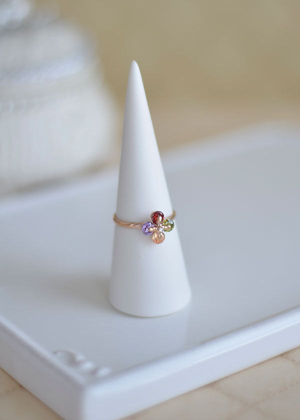 A personal favorite from my Etsy shop https://www.etsy.com/ca/listing/266786875/four-colors-multi-crystal-ring-with-rose