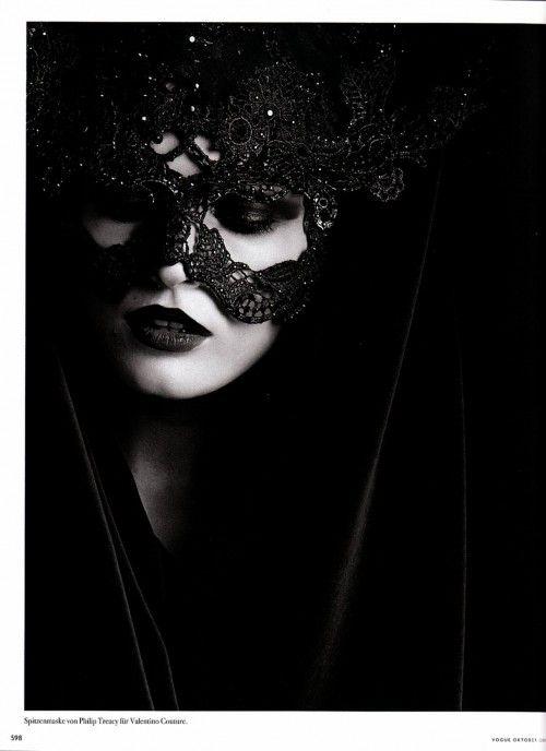 Mask: Black Lace