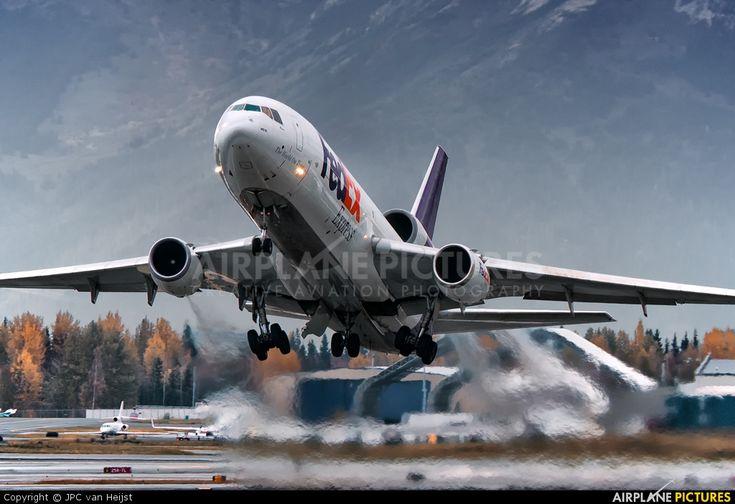 rare alaskan aircraft | FedEx Federal Express N320FE aircraft at Anchorage - Ted Stevens Int ...