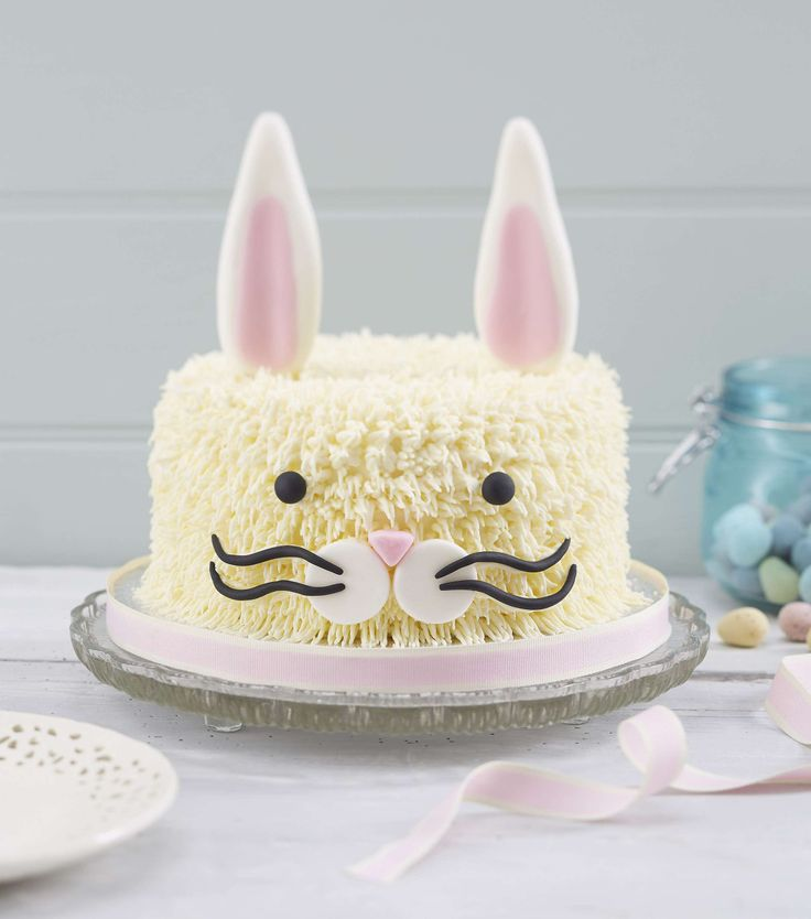 How to Make an Easter Bunny  Cake ... great photo tutorial ...