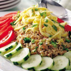 Nasi Goreng ( Fried rice )