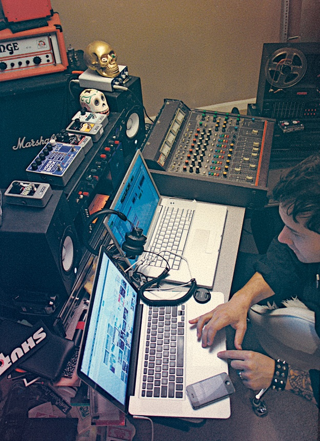 how to start a music studio at home