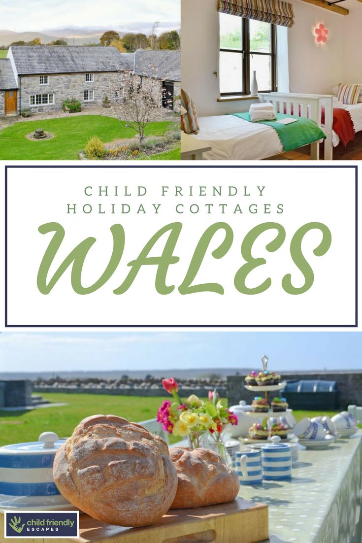 A range of holiday cottages in Wales ideal for families with kids.