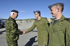 The Governor General of Canada was in the Yukon August 2013 for the Operation Nanook military training exercise.