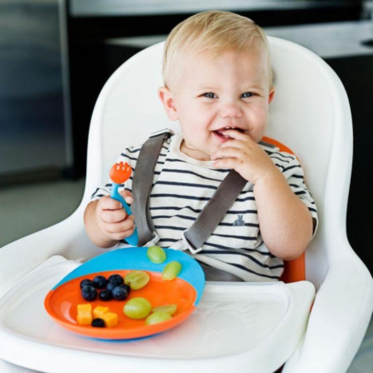 Boon Catch Plate Yakalayan Tabak Turuncu Mavi   Mama Tabakları   Bebek House   Anne , Bebek Ve Çocuk Ürünleri - Bebek Mağazaları