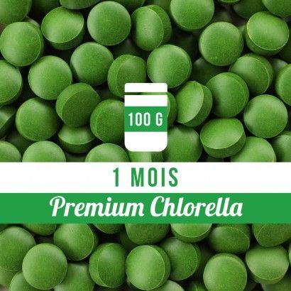 Boîte de 100g - Premium Chlorella comprimés
