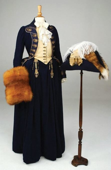 """Who doesn't love a riding habit? Inspired by menswear and military uniforms, these smart outfits aren't just for sitting on horses. They're high fashion and look great on-screen. Here are five fabulous riding habits in historical costume movies and TV series.  1. Georgiana's """"Fox Campaign"""" Riding Habit in The Duchess (2007) In a film...  Read more  →"""