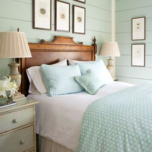 Aqua Bedroom with cottage feel - a dream!