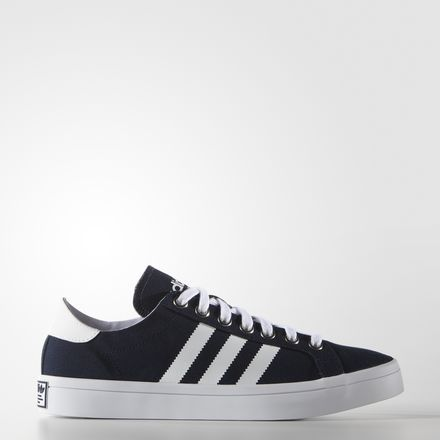 gave adidas courtvantage ori heren sneakers (Wit)